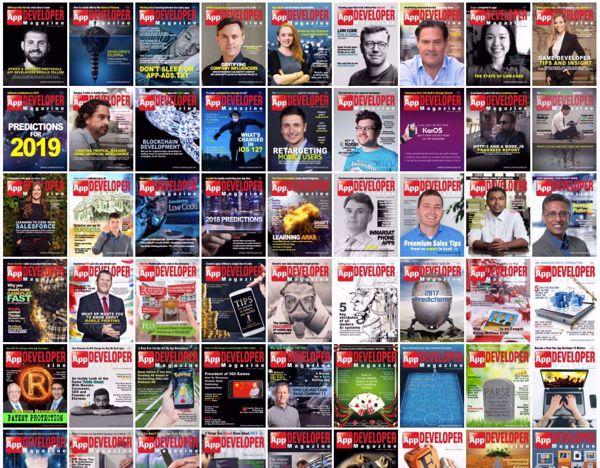 More issues of App Developer Magazine